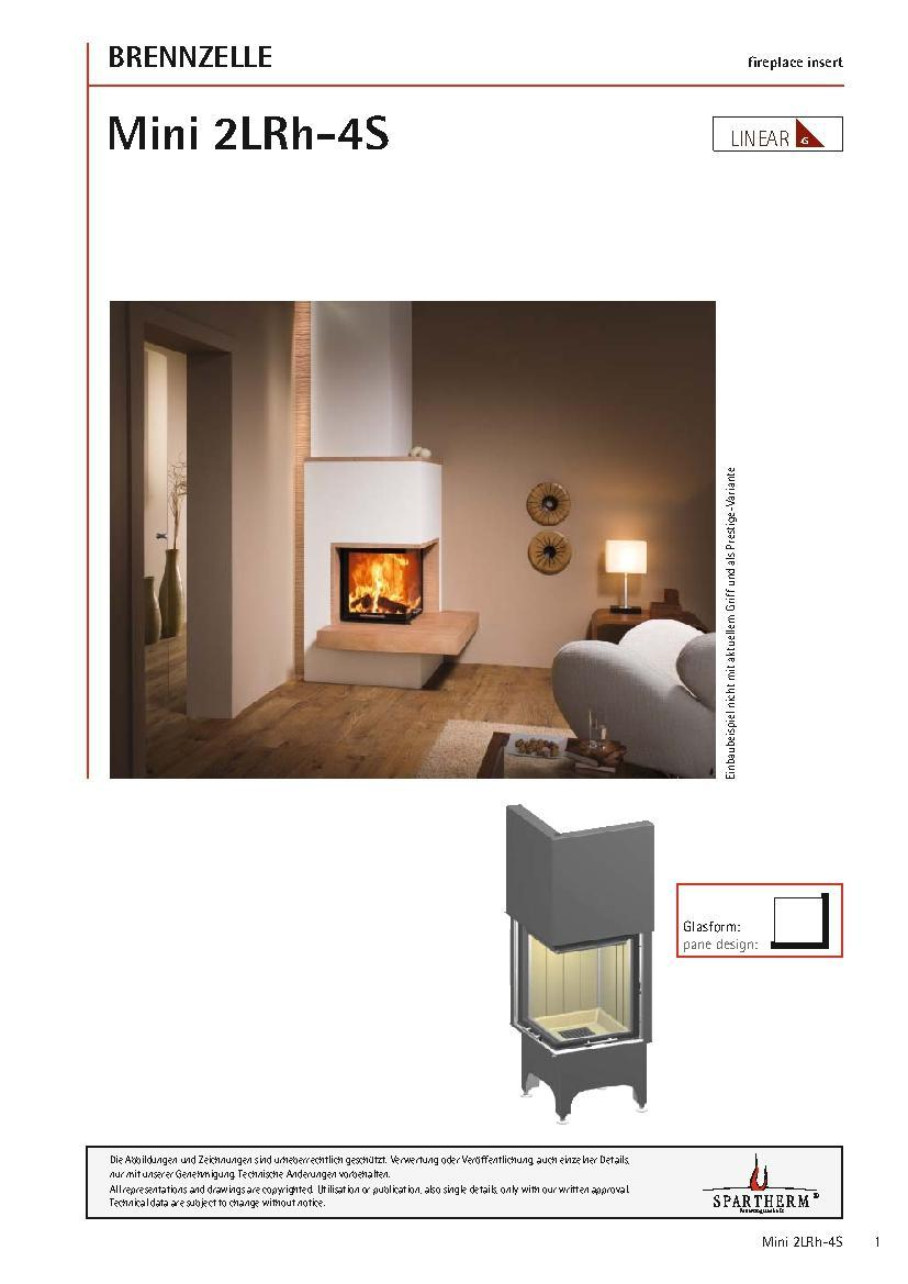 focar lateral spartherm mini 2lrh i seminee firedesign. Black Bedroom Furniture Sets. Home Design Ideas